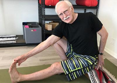 Ageless Gentle Yoga Class